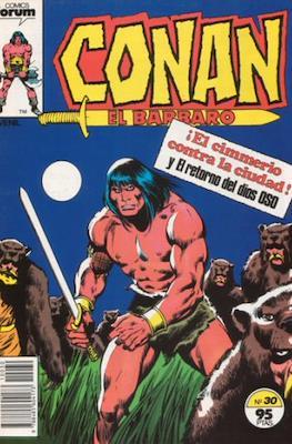 Conan el Bárbaro (1983-1994) (Grapa. 19x27. 36/32/24 páginas. Color.) #30