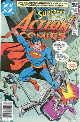 Action Comics Vol. 1 (1938-2011; 2016-) (Comic Book) #504