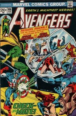 The Avengers Vol. 1 (1963-1996) (Comic Book) #108