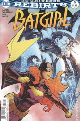 Batgirl Vol. 5 (2016- Variant Cover) #9