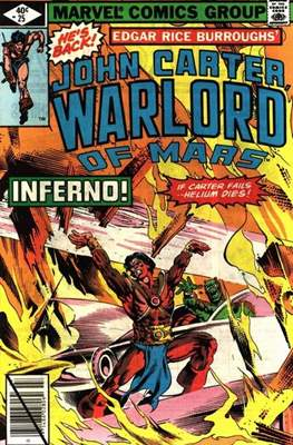 John Carter Warlord of Mars Vol 1 (Comic-book.) #25