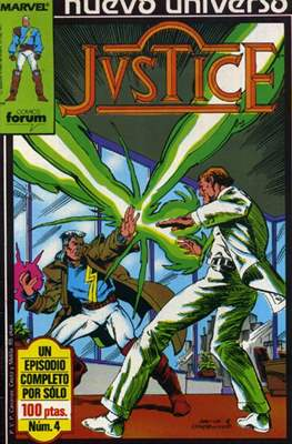 Justice (1988-1989) (Grapa. 17x26. 24 páginas. Color.) #4