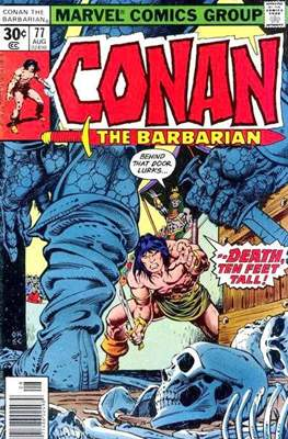 Conan The Barbarian (1970-1993) (Comic Book 32 pp) #77
