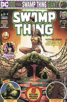 Swamp Thing DC 100-Page Giant