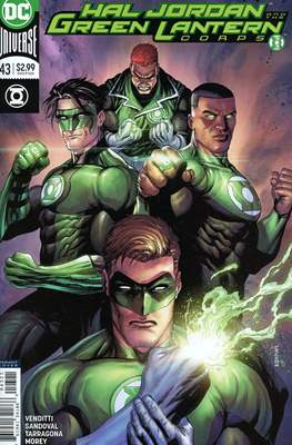 Hal Jordan and the Green Lantern Corps (Vol. 1 2016-2018 Variant Cover) (Comic Book) #43