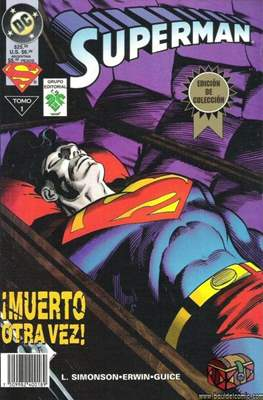 Superman: ¡Muerto otra vez! (Rústica) #1
