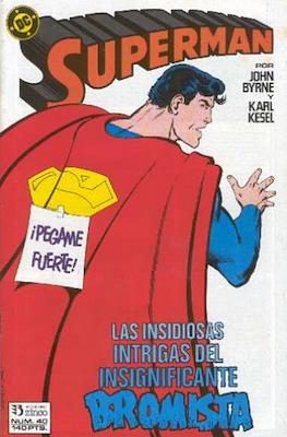 Superman: El hombre de acero / Superman Vol. 2 #40
