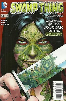 Swamp Thing vol. 5 (2011-2015) #34