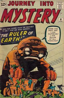 Journey into Mystery / Thor Vol 1 (Comic Book) #81