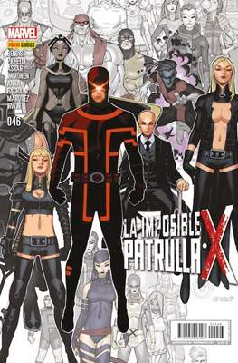 La Imposible Patrulla-X / La Patrulla-X Oro (2012-) (Grapa) #46
