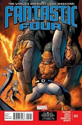 Fantastic Four Vol. 4 (Comic Book) #12
