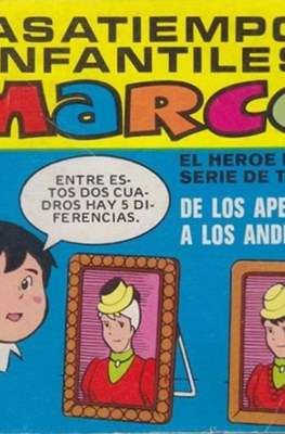 Pasatiempos infantiles Marco