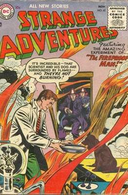 Strange Adventures (Comic Book) #62