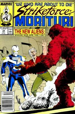 Strikeforce Morituri (Comic-book.) #24