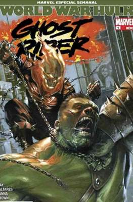Ghost Rider World War Hulk - Marvel Especial Semanal