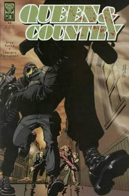 Queen & Country (Comic Book) #8