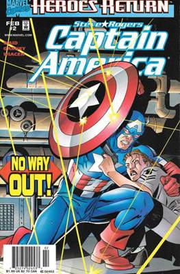 Captain America Vol. 3 (1998-2002 Variant Cover) (Comic Book) #2