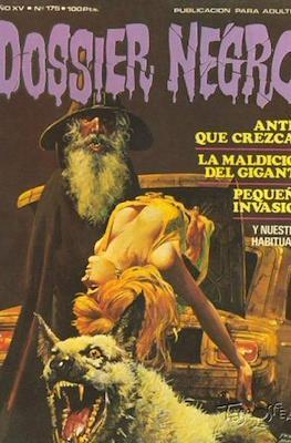 Dossier Negro (Rústica y grapa [1968 - 1988]) #175