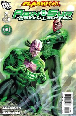 Flashpoint: Abin Sur the Green Lantern (Grapa) #2