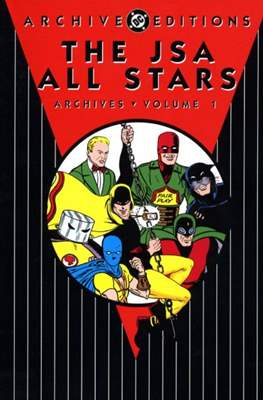 DC Archive Editions. The JSA All Stars