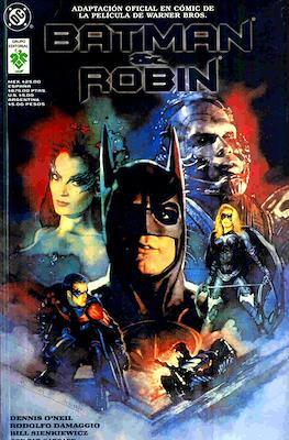 Batman & Robin. Adaptación oficial en cómic de la película de Warner Bros.