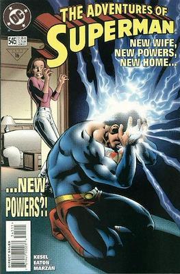 Superman Vol. 1 / Adventures of Superman Vol. 1 (1939-2011) (Comic Book) #545