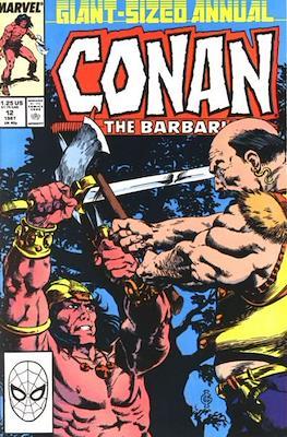 Conan The Barbarian Annuals (1973-1987) (Grapa, 48 págs.) #12