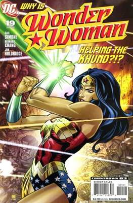 Wonder Woman Vol. 3 (2006-2011) (Comic Book) #19