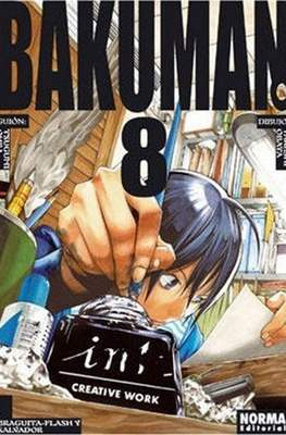 Bakuman (Rústica con sobrecubierta) #8