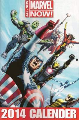 All New Marvel Now! 2014 Calendar