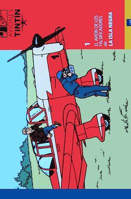 Aviones Tintín. Los aviones en la obra de Hergé