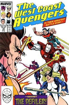 West Coast Avengers Vol. 2 (Comic-book. 1985 -1989) #38