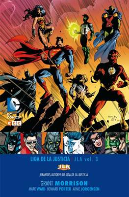 Grandes Autores de Liga de la Justicia: Grant Morrison (Cartoné) #3