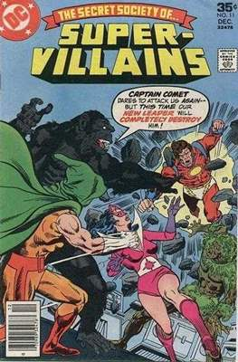 Secret Society of Super-Villains (Comic Book. 1976) #11