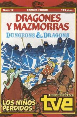 Dungeons and dragons. Dragones y mazmorras (Grapa 32 pp) #12