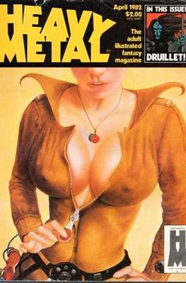 Heavy Metal Magazine (Grapa) #61