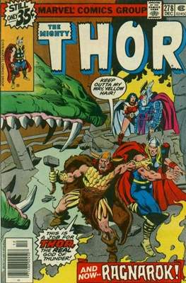 Journey into Mystery / Thor Vol 1 (Comic Book) #278