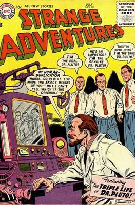 Strange Adventures (Comic Book) #70