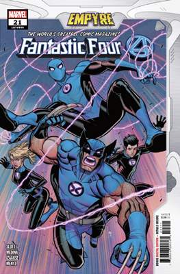 Fantastic Four Vol. 6 (2018-...) (Comic Book) #21