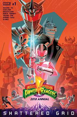 Mighty Morphin Power Rangers Annual (2016-) (Comic book) #3