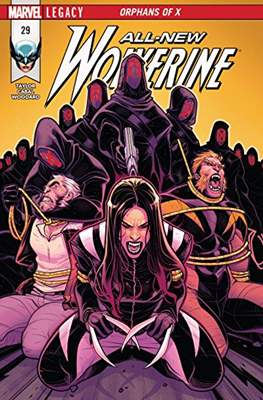 All-New Wolverine (2016-) (Comic book) #29