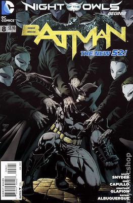 Batman Vol. 2 (2011-2016 Variant Covers) (Comic Book) #8
