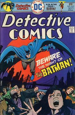 Detective Comics Vol. 1 (1937-2011; 2016-) (Comic Book) #451