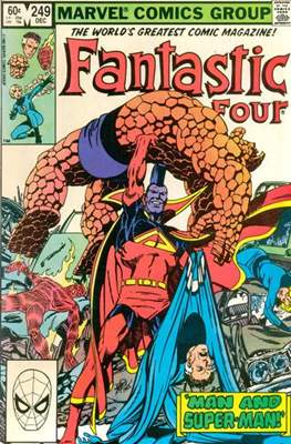 Fantastic Four Vol. 1 (1961-1996) (saddle-stitched) #249