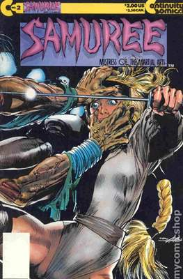 Samuree (1987-1991) (Comic Book 32 pp) #2