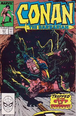 Conan The Barbarian (1970-1993) (Comic Book 32 pp) #217