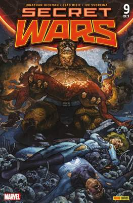 Secret Wars (2015 Portadas alternativas) (Grapa) #9