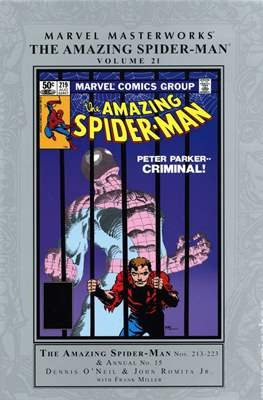Marvel Masterworks: The Amazing Spider-Man (Hardcover) #21