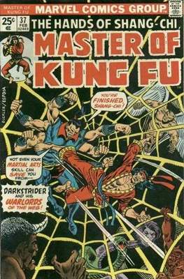 Master of Kung Fu (Comic Book. 1974 - 1983. Continued from Special Marvel Edition #16) #37