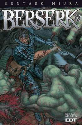 Berserk (Rústica con sobrecubierta) #35